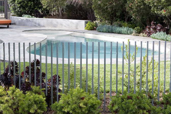 Fiona Brockhoff Design » Neal Paving and Pool Fence Design